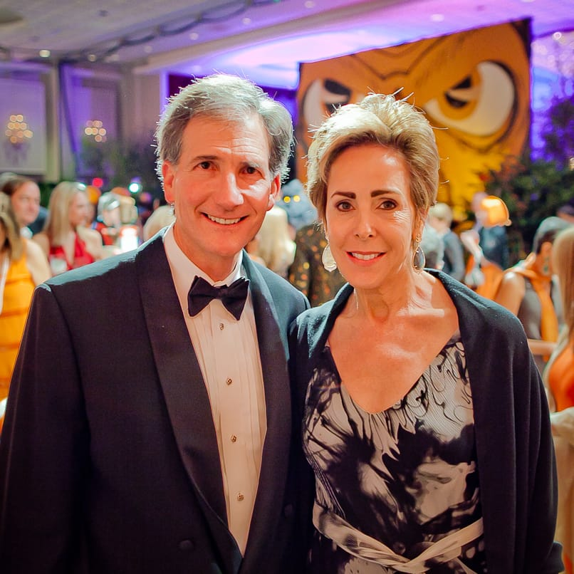Orange Show Gala Bill and Liz Decker