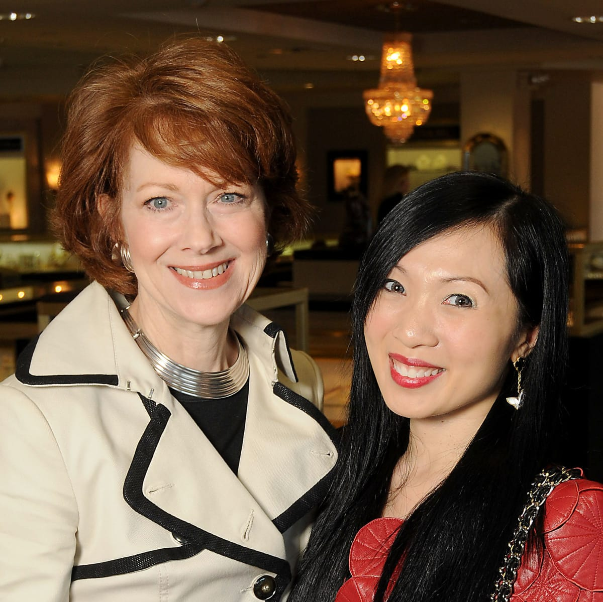 HGO Ladies Lunch April Lykos and Connie Kwan-Wong
