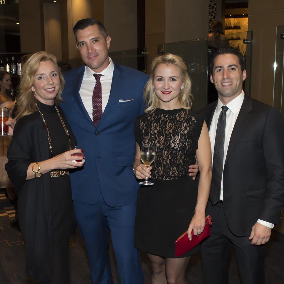 Una Notte in Italia Gena Barreto, Paul Oates, Marla Oates, Michael Manteris