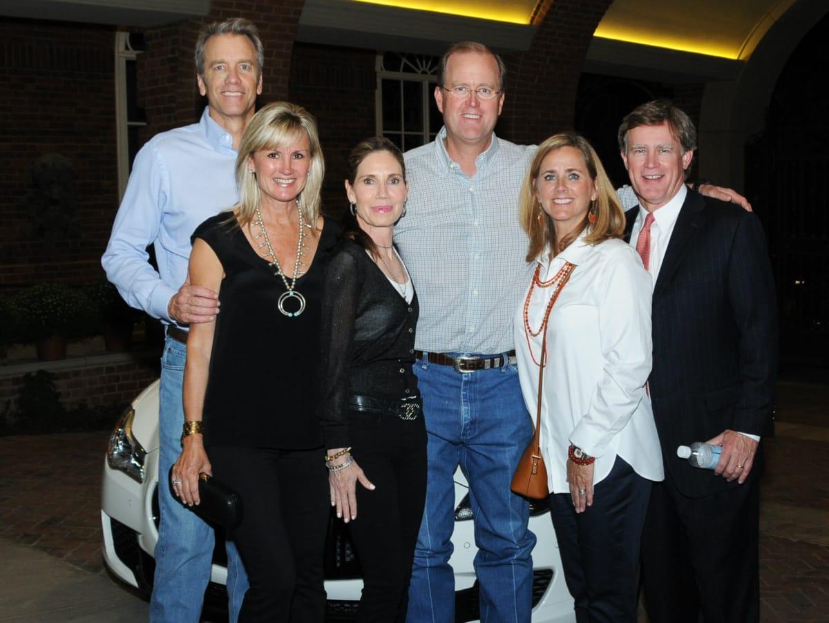 Chuck Anderson, Kim Anderson, Sue Blackwell, Bryar Blackwell, Stacey Branch, Dan Branch