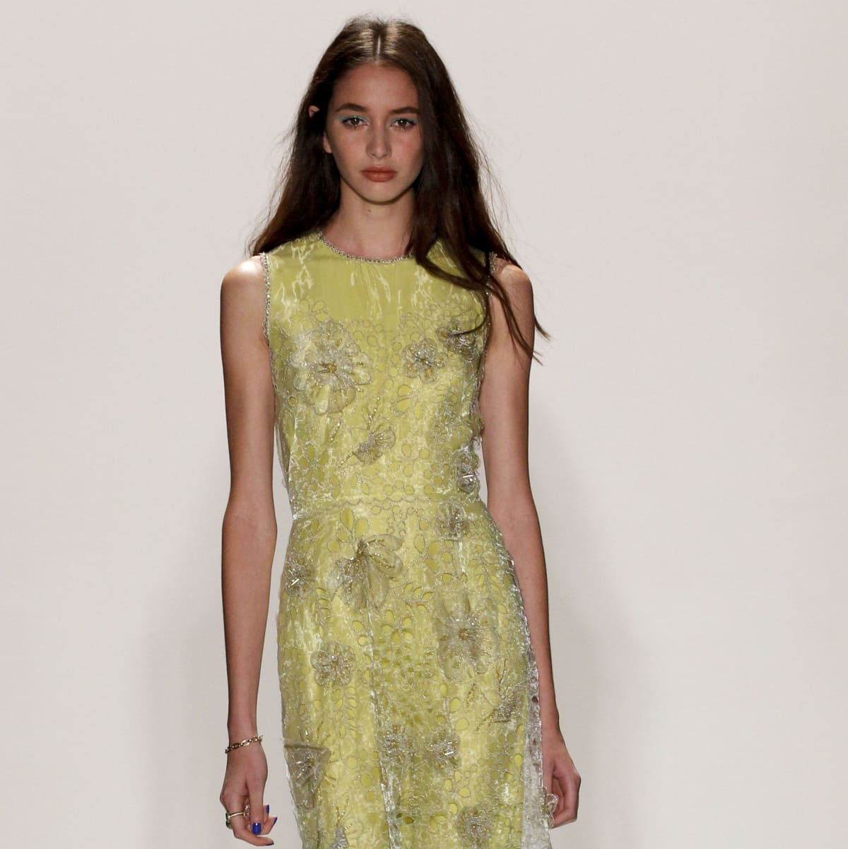 Jenny Packham spring 2016 look 7