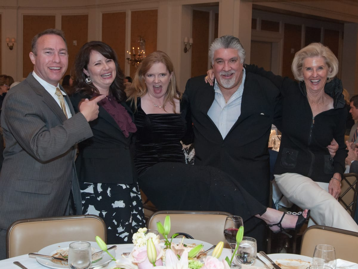 Houston, River Oaks Chamber Orchestra Gala, October 2015, Aaron and Alison Moss, Alecia Lawyer, Andrés Cárdenes, Terrylin Neale