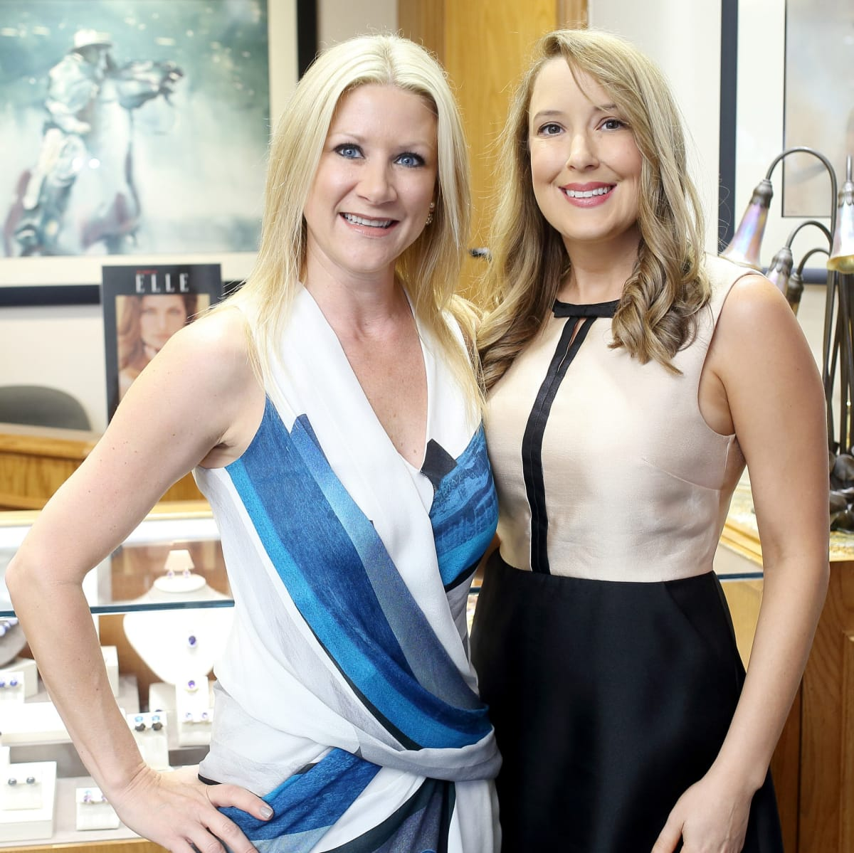 Houston, Una Notte kickoff party, October 2015, Stacey Soriero, Andrea Sivells
