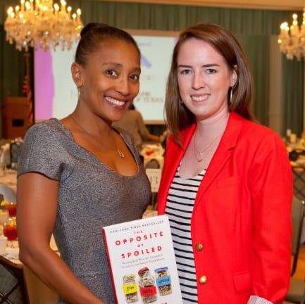 News, Shelby, Houston Children Give Back, Oct. 2015, Jackie Fair, Jenna McCormick