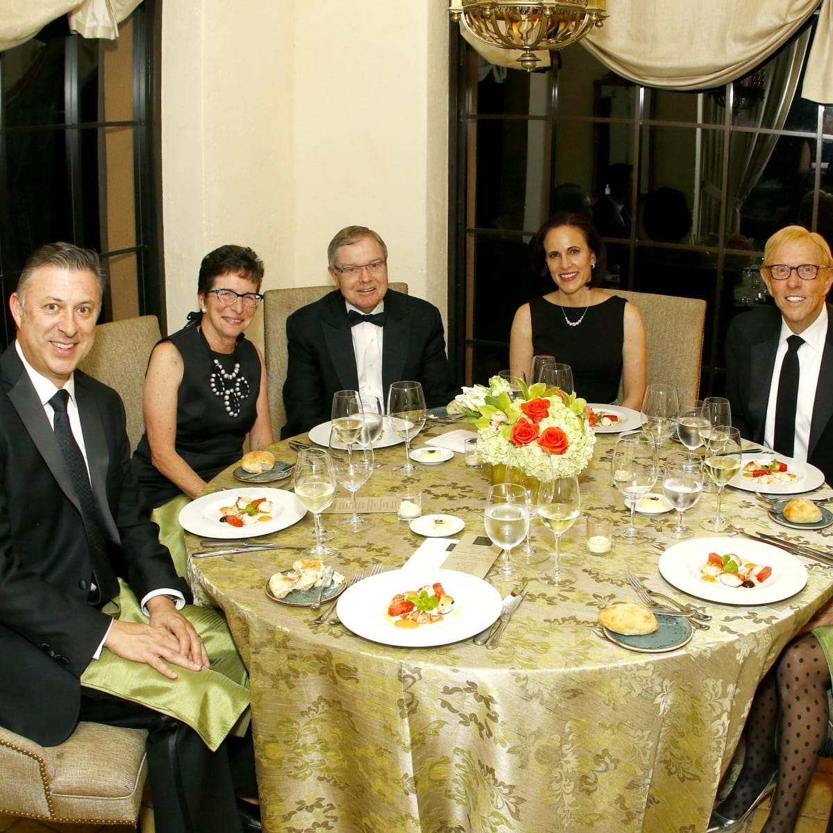Sean Magennis, Diane and Hal Brierley, Maria Magennis, Steven and Barbara Durham