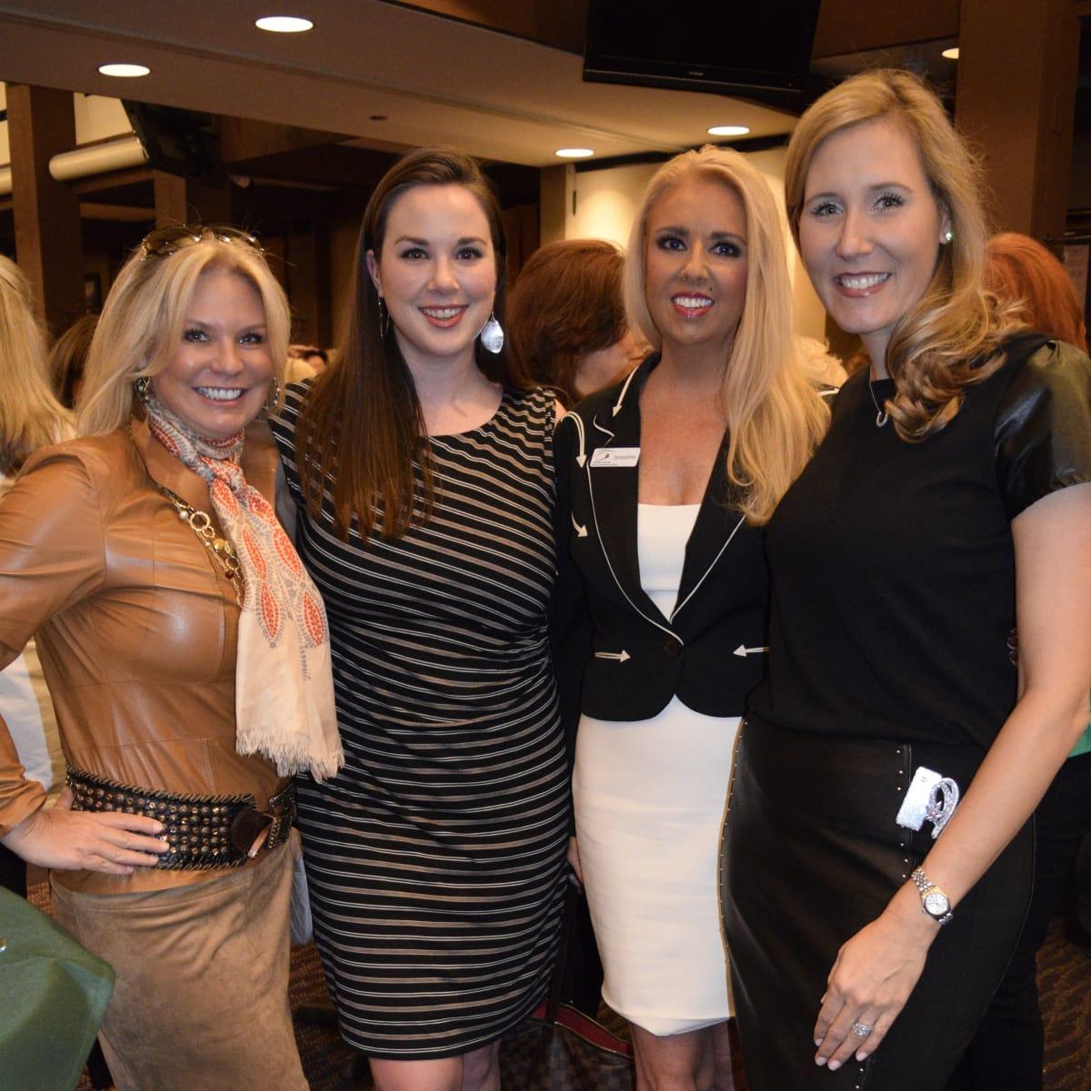 HLSR Trailblazers 2015 Terri Courtney, Patricia Kormann, Jacquine Levesque and Michelle Wasaff