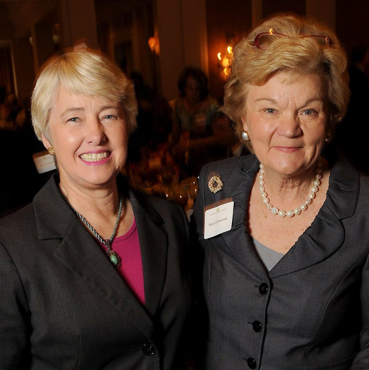 News, Shelby, Houston Botanic Garden Lunch, Sept. 2015, Mayor Annise Parker, Susie Glasscock