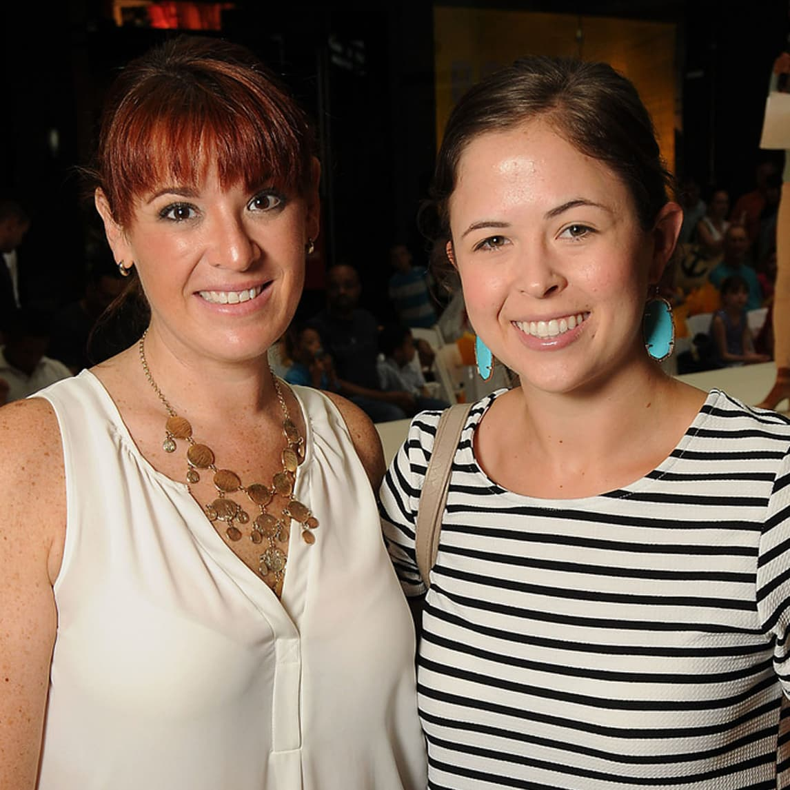 News, Shelby, MD Anderson Back to School, August 2015, Gina Rotolo, Natalie Webb