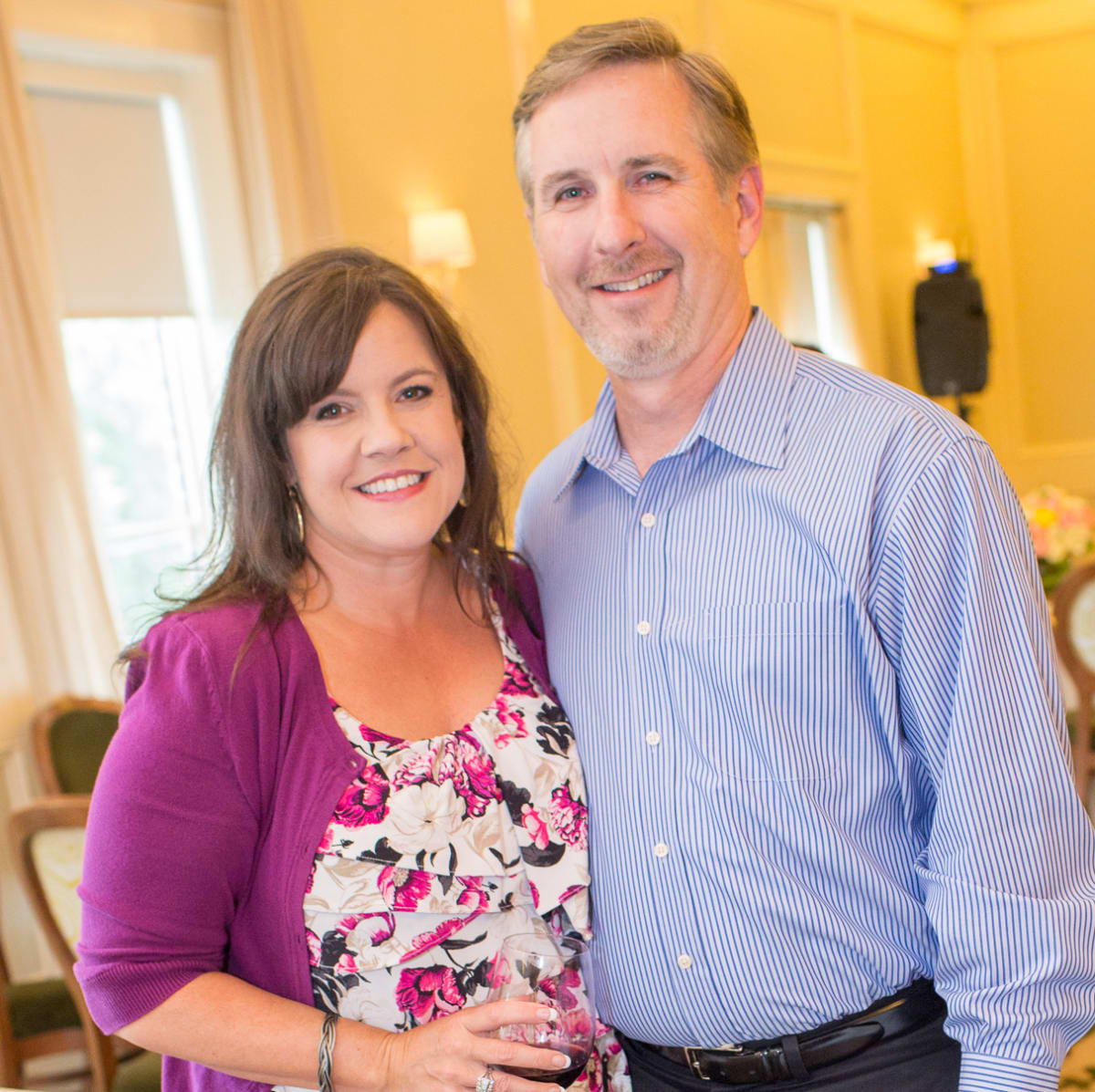 News, Shelby, Cheers 4 Charity kick-off, June 2015, Liz and Mark Livingston