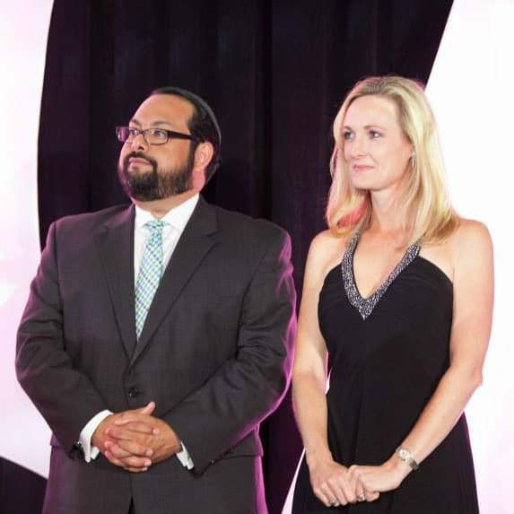 Leukemia & Lymphoma Society's Man & Woman of the Year Gala_Randy Curbriel_Dana Smith_2015