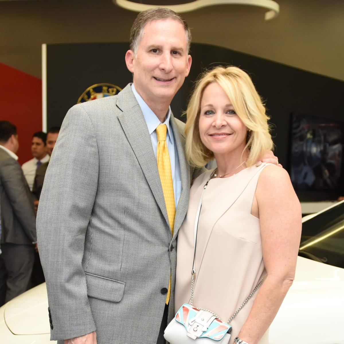 News, Shelby, Helfman Maserati opening, June 2015, Steven and Sandi Wolf
