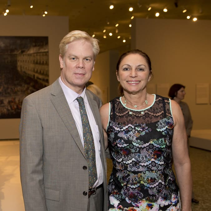 MFAH Habsburg Splendor dinner Alfred Glassell, III and Marli Andrade