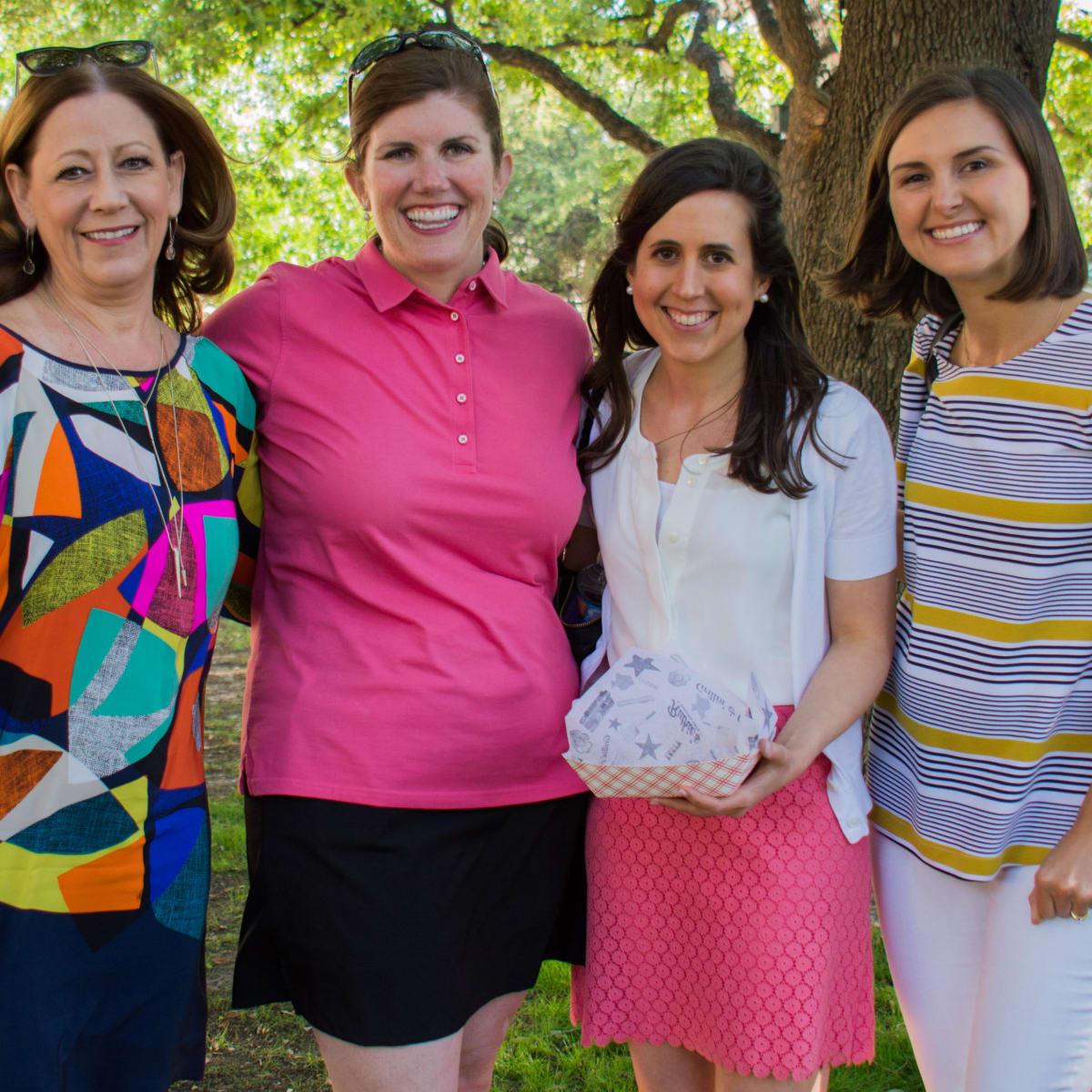 Stephanie Brigger, Meg Boyd, Taylor Fisher, Paige McWay