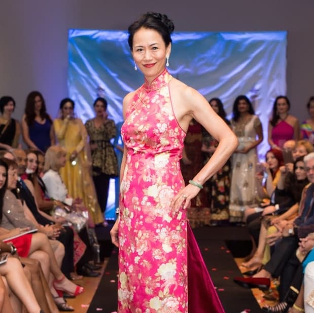 Y. Ping Sun at International Mother's Day Soiree