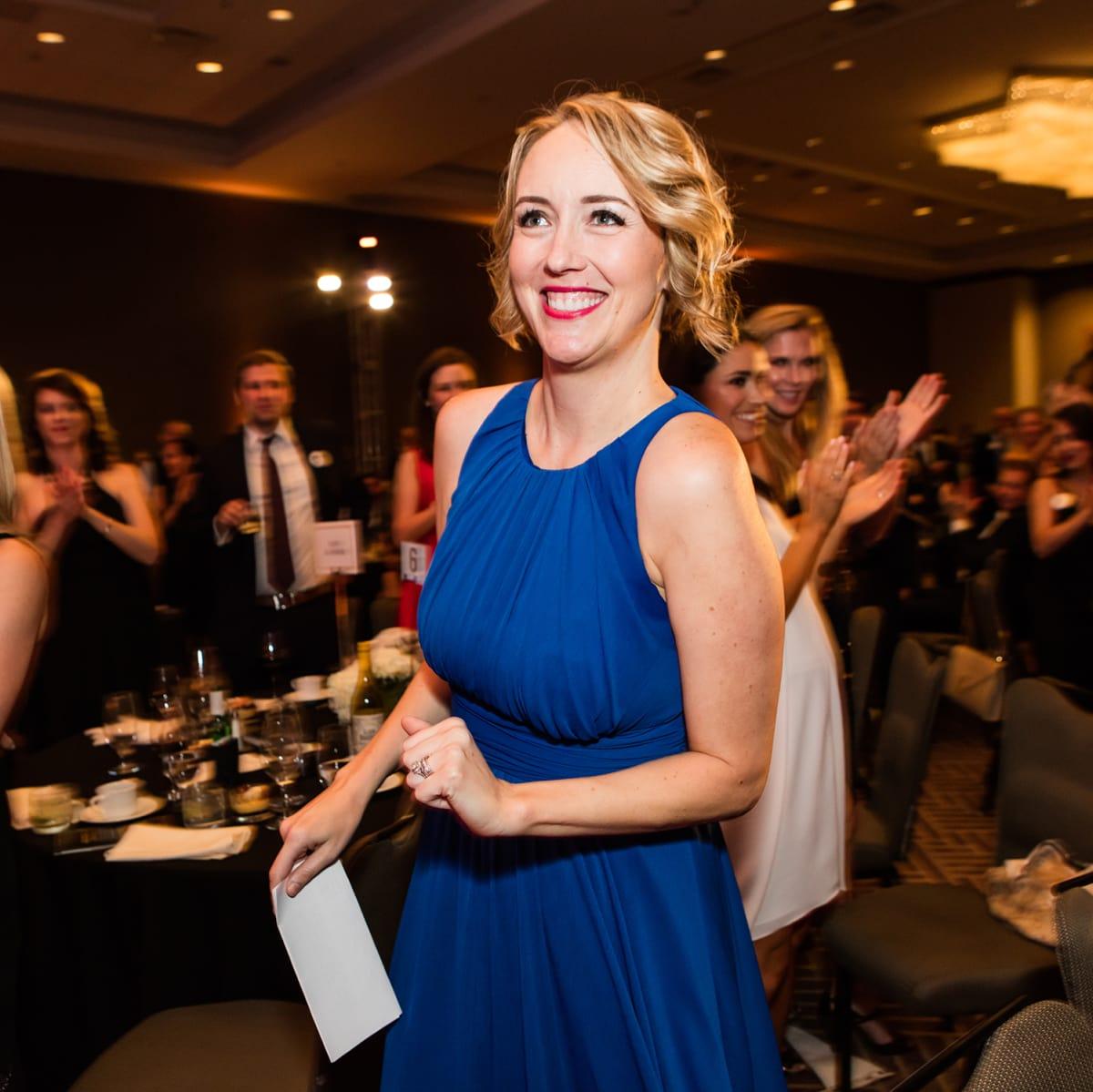 Leukemia & Lymphoma Society's Man and Woman of the Year Grand Finale Gala 2017 Elizabeth King