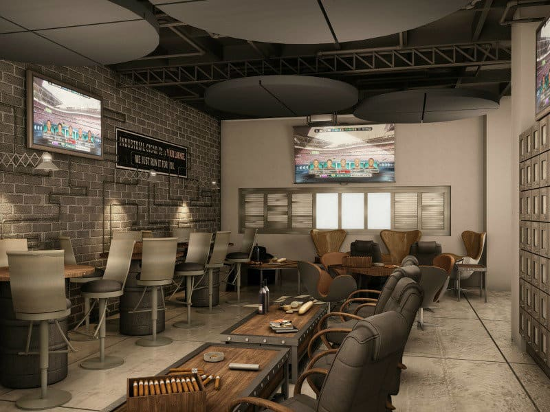 classy members only cigar lounge and store to open in frisco culturemap dallas. Black Bedroom Furniture Sets. Home Design Ideas