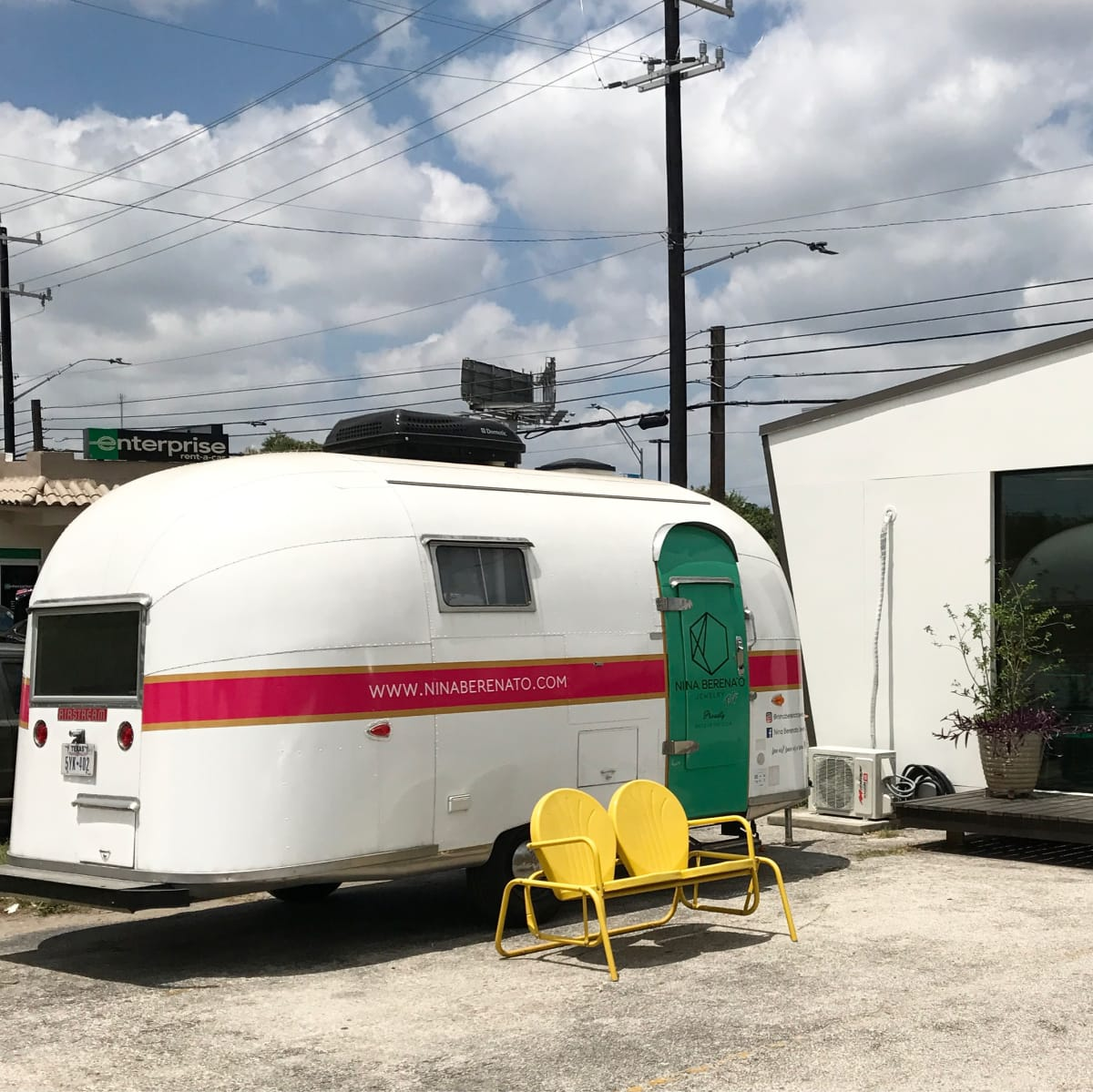 Nina Berenato Jewelry airstream San Antonio