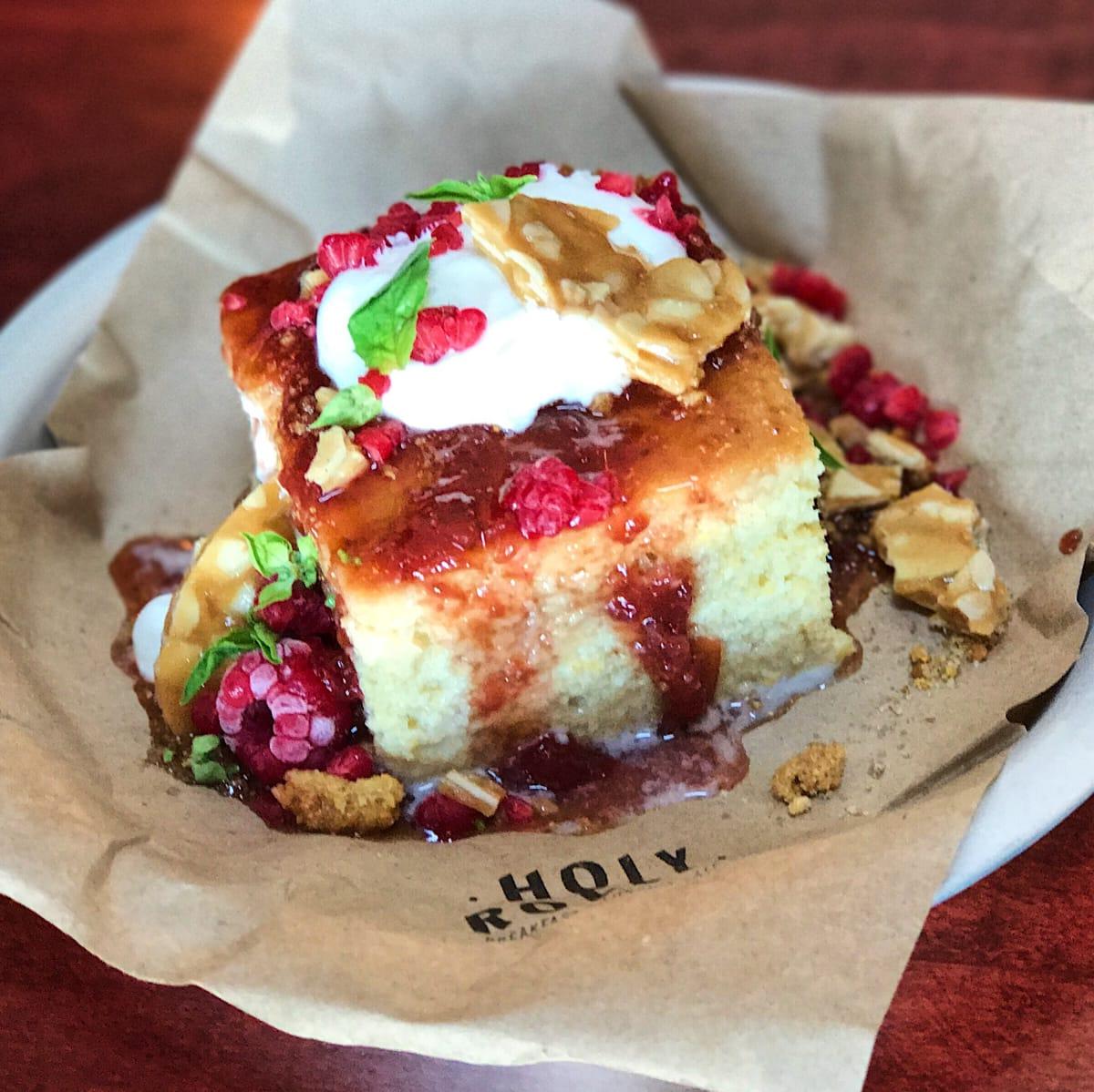 Holy Roller honey cake