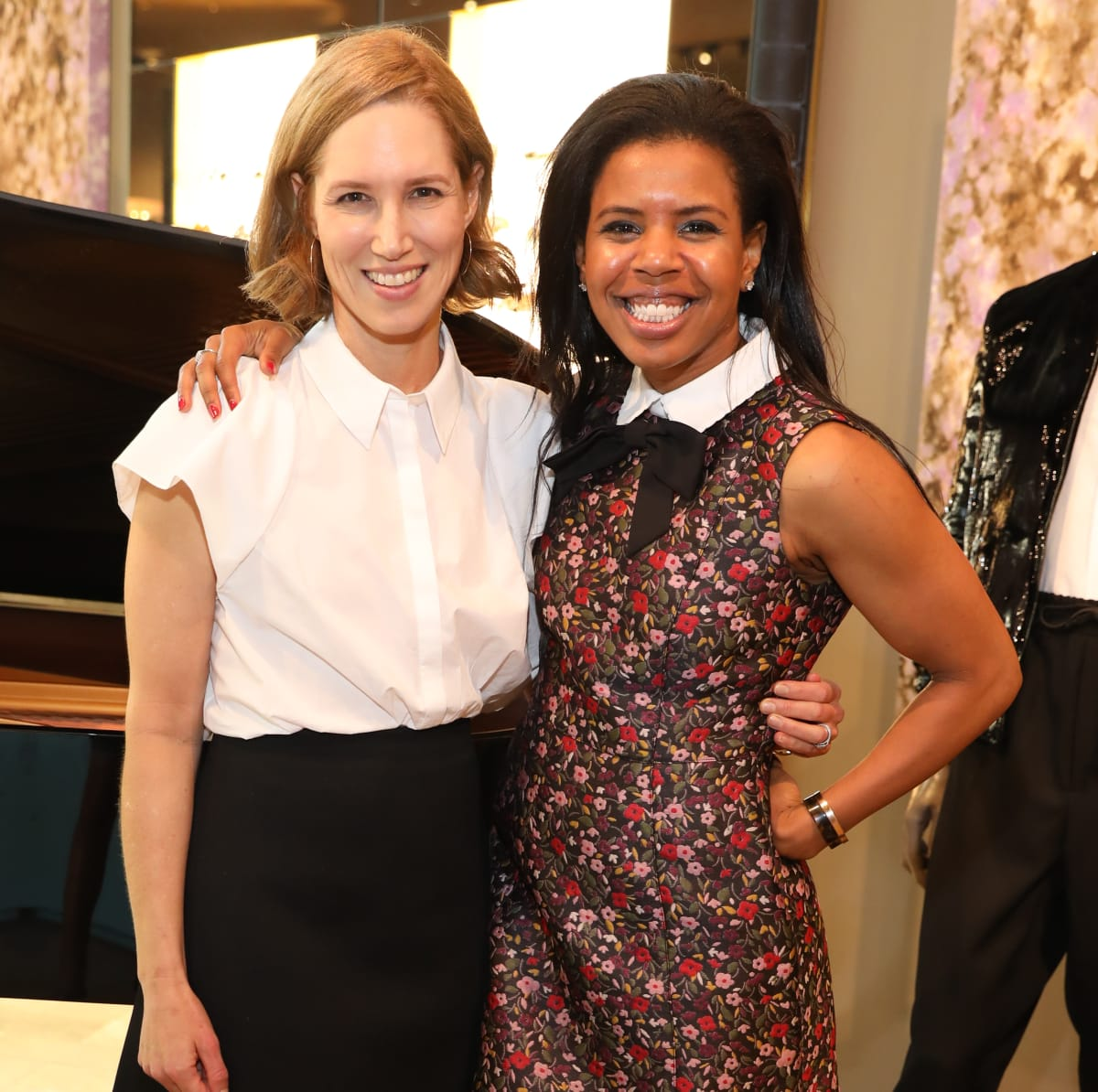 Carolyn Dorros, Claire Cormier Thielke at Houston Grand Opera party at The Webster