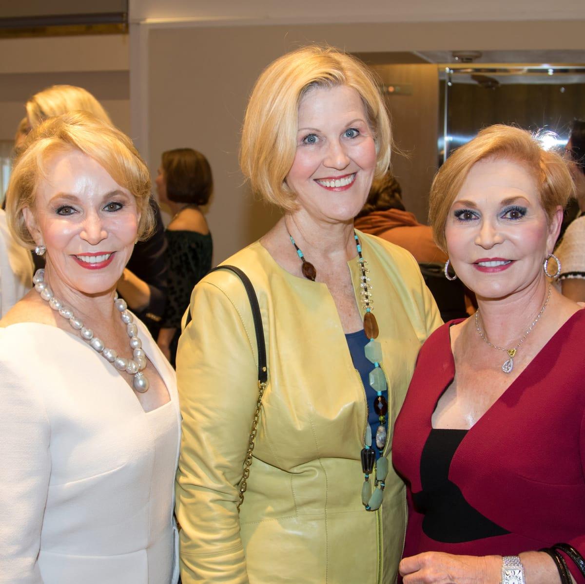 Carmine Godwin, Mary Anne Smiley, Carolyn McCutchin