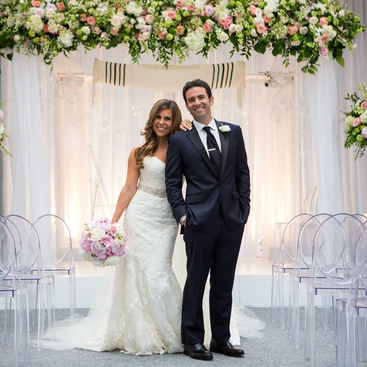 Aronson Wedding Couple