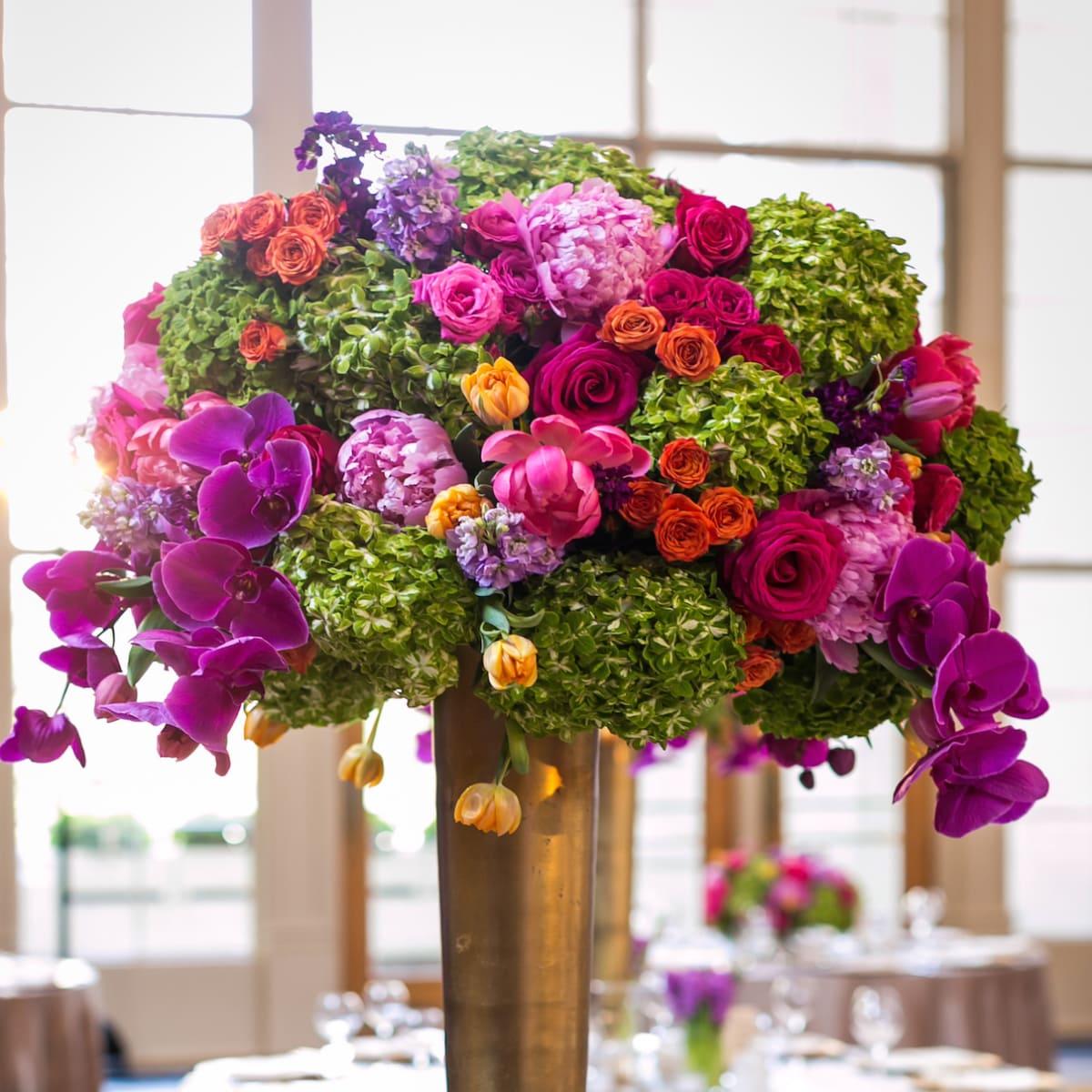 Monica Kitt Wedding, arrangement