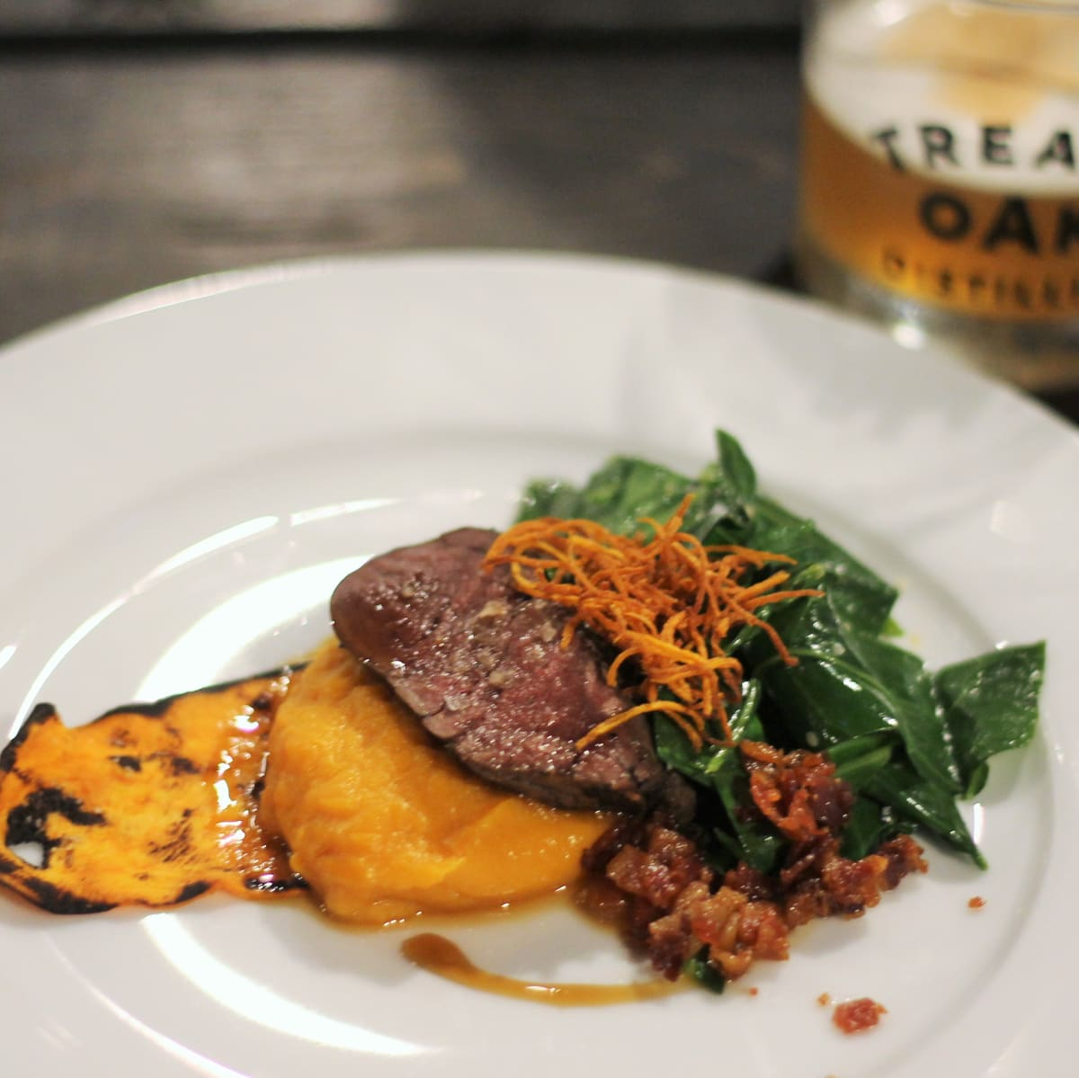 Treaty Oak Ghost Hill Restaurant Special