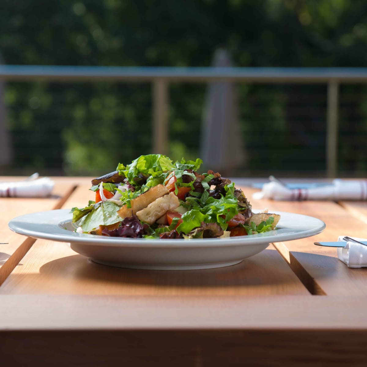 Leaning Pear Salad