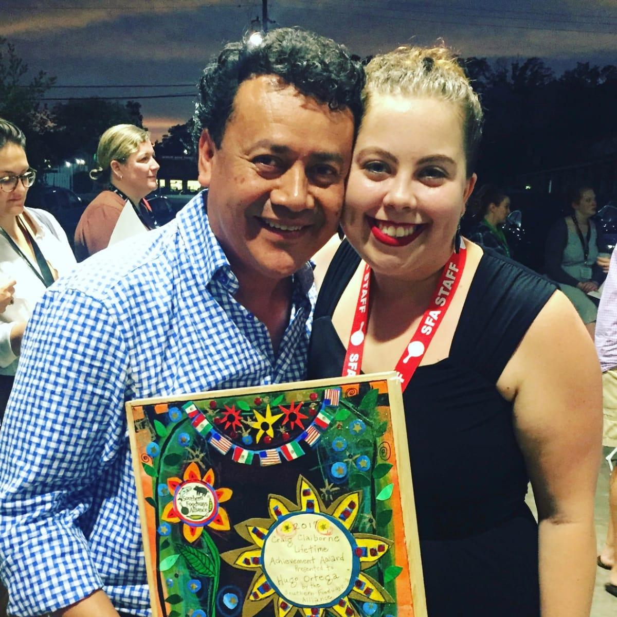 Hugo Ortega Ava Lowery Southern Foodways Alliance