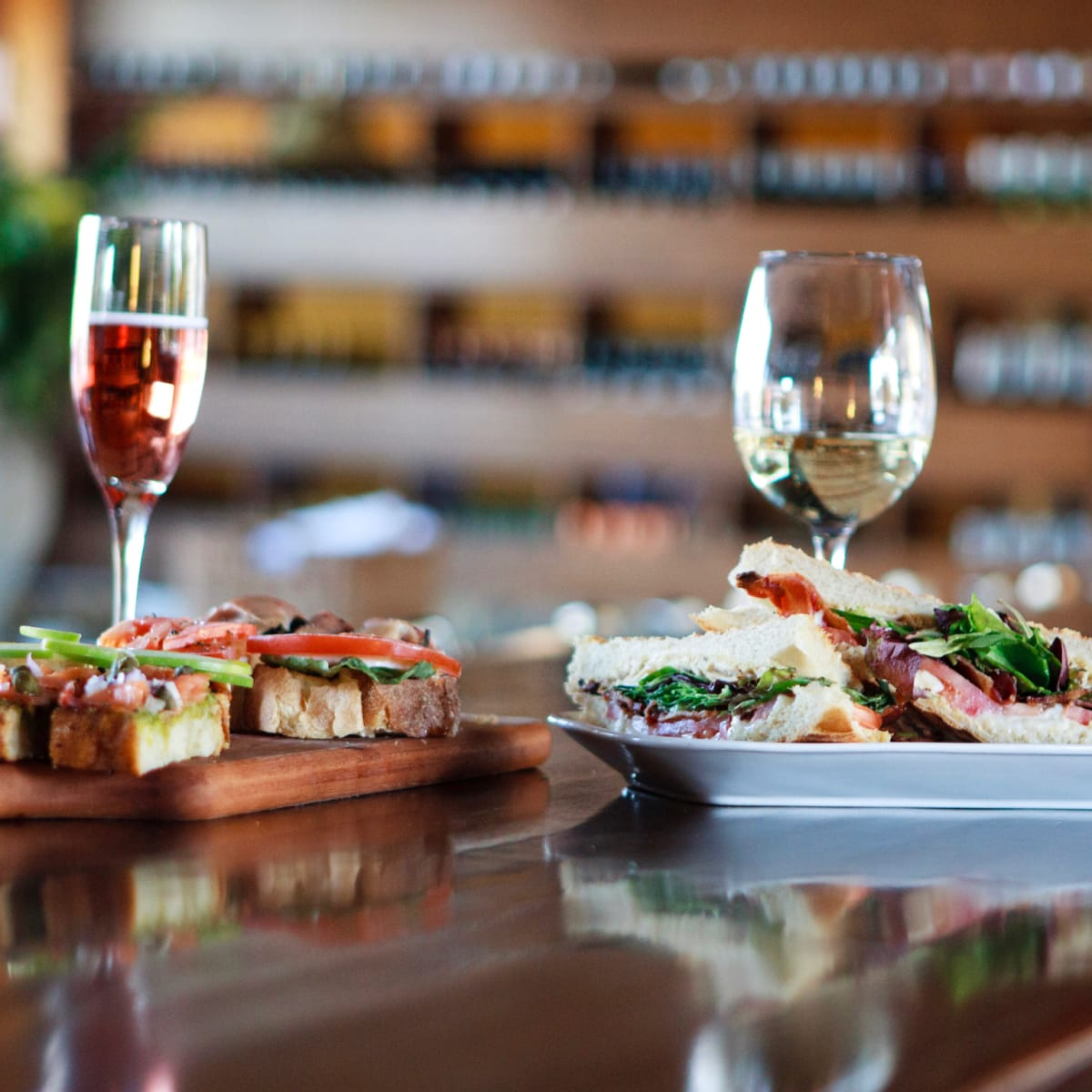 Postino wine and food
