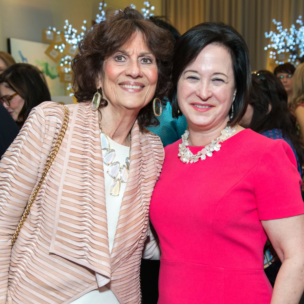 Donna Vallone, Anne E. Neeson at Memorial Hermann Razzle Dazzle luncheon