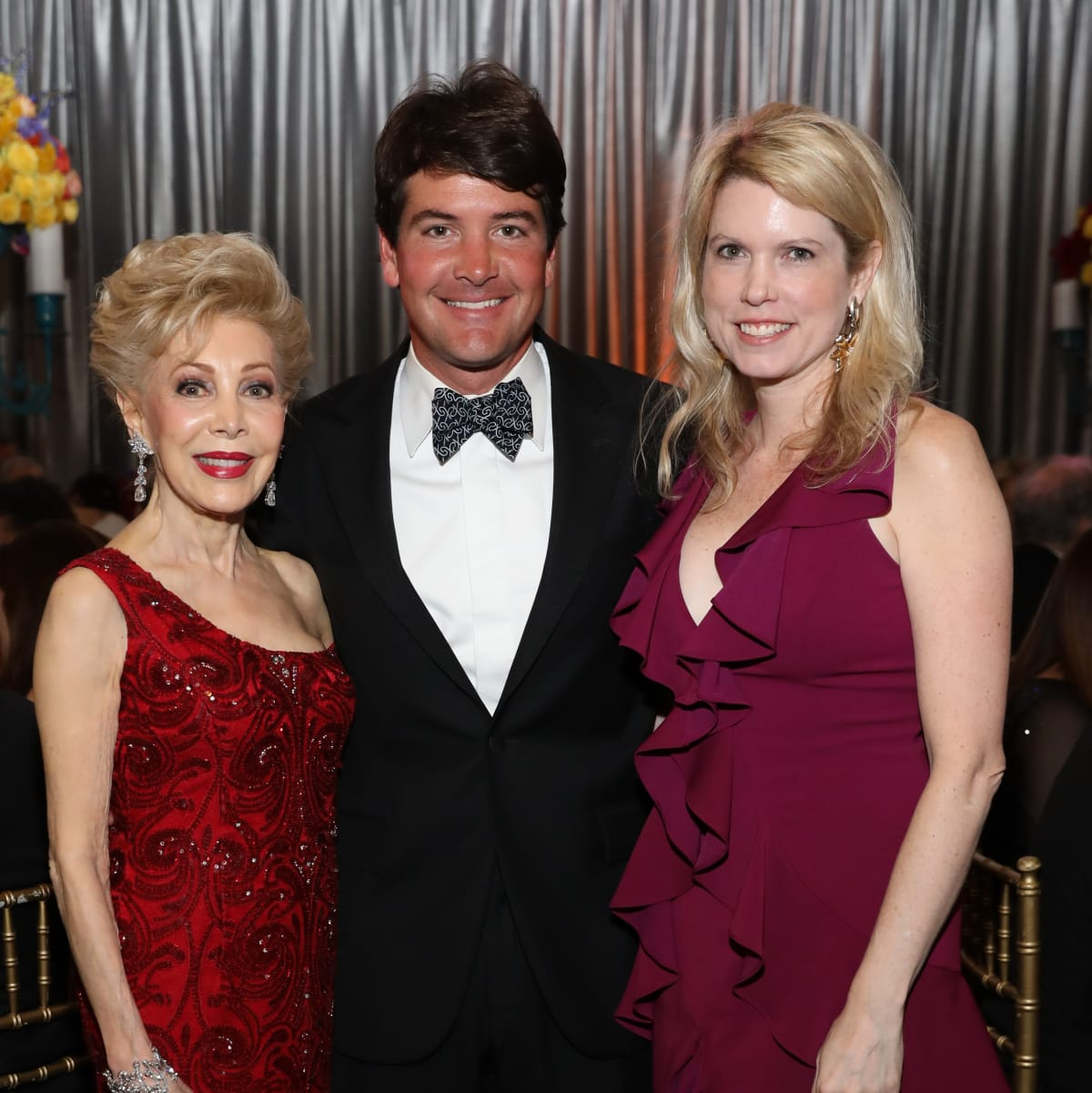 Margaret Alkek Williams, Courtney and Bill Toomey at Houston Grand Opera opening night 2017