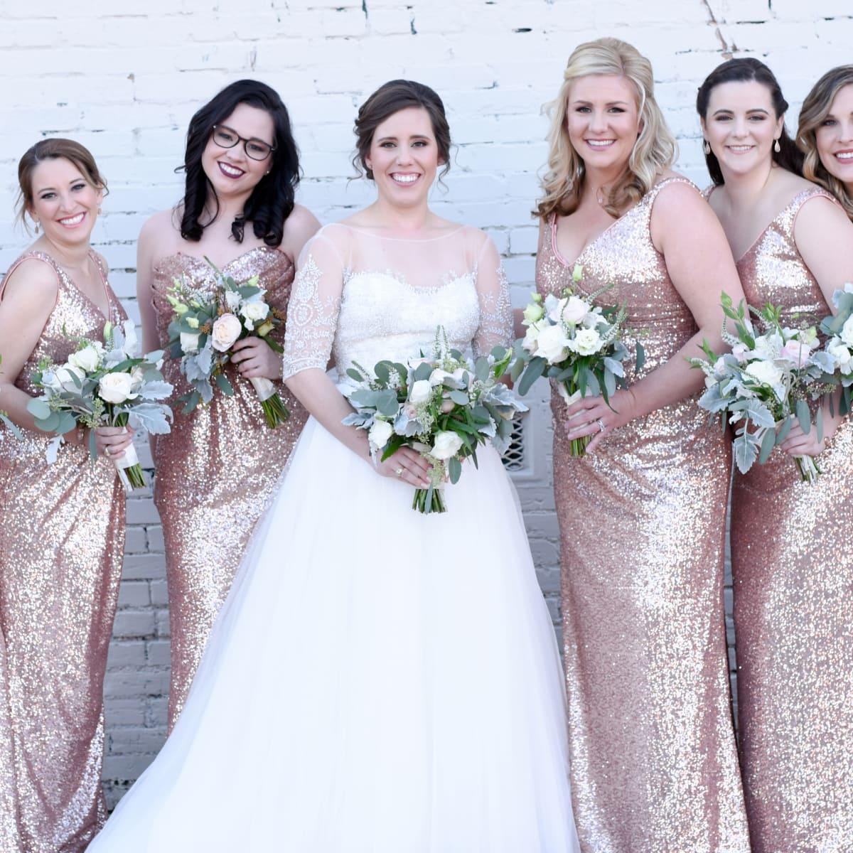 Beville Wedding, Bridesmaids