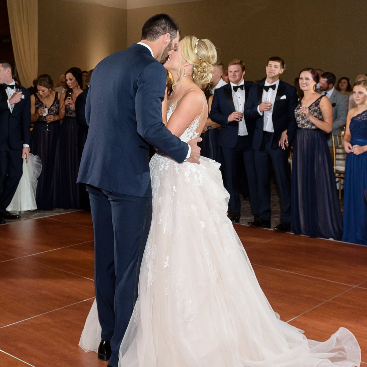 Neely wedding, dance