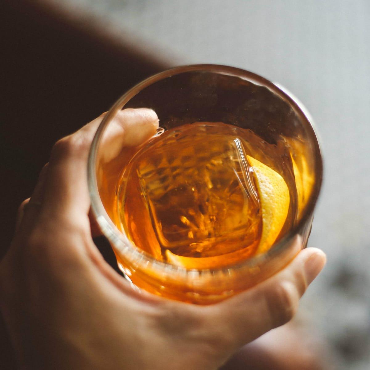 Eberly Smokin' Barrell cocktail
