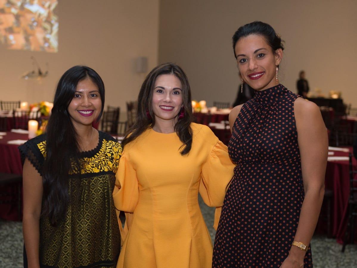 Houston, MFAH HOME Opening Dinner, November 2017, Gabriela Conde, Michele Leal, Marisol Valero
