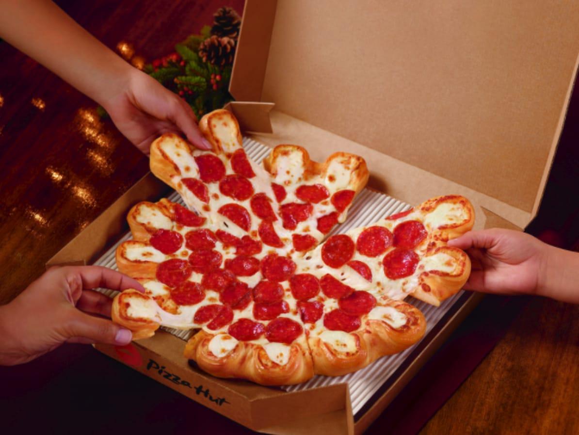 Houston, Pizza Hut, Ultimate Cheesy Crust Pizza, November 2017
