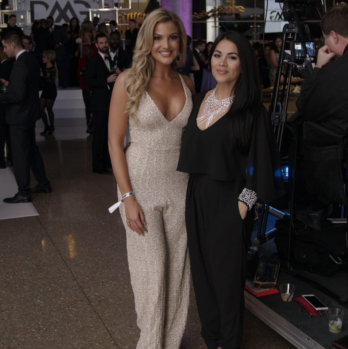 Kat Dunn, Alanna Sarabia, Millennial Gala 2017