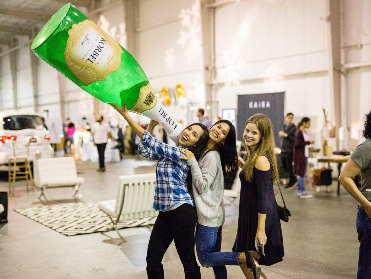 Houston, CultureMap Holiday Pop-Up Shop, November 2017, Jodie Lindley, Shenna Deveza, Michelle Davis