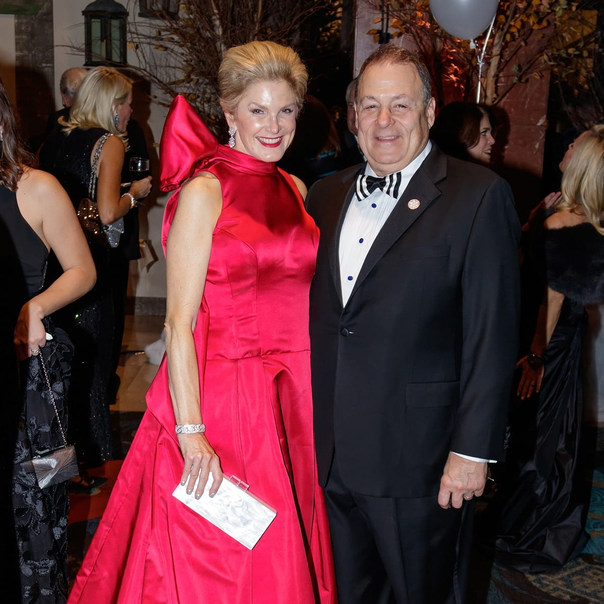 Tanya Foster, Pete Foster, Crystal Charity Ball 2017