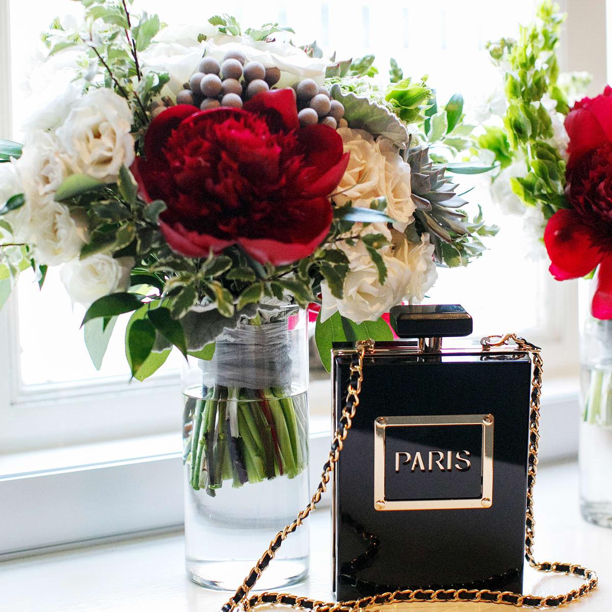 Womack Wedding, Paris bottle