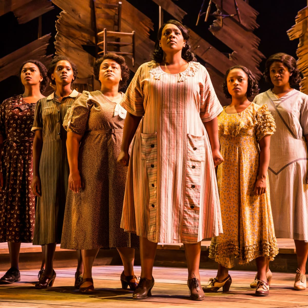 National tour cast of The Color Purple