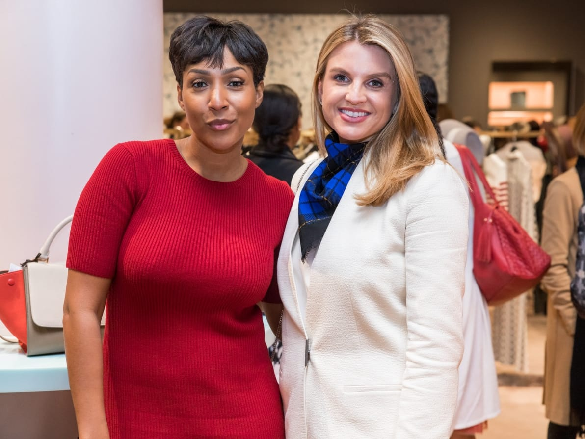Houston, Table Talk Honoree party, January 2018, Megan Bailey, Lindley Arnoldy