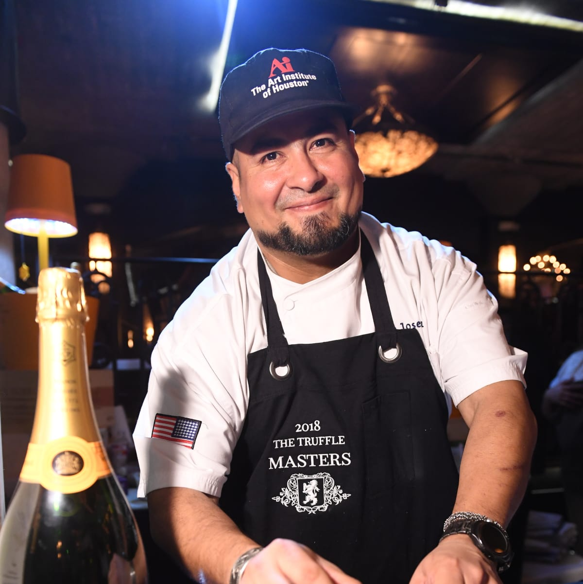 Houston, Truffle Masters, January 2018, A'Bouzy Chef Jose Ruiz