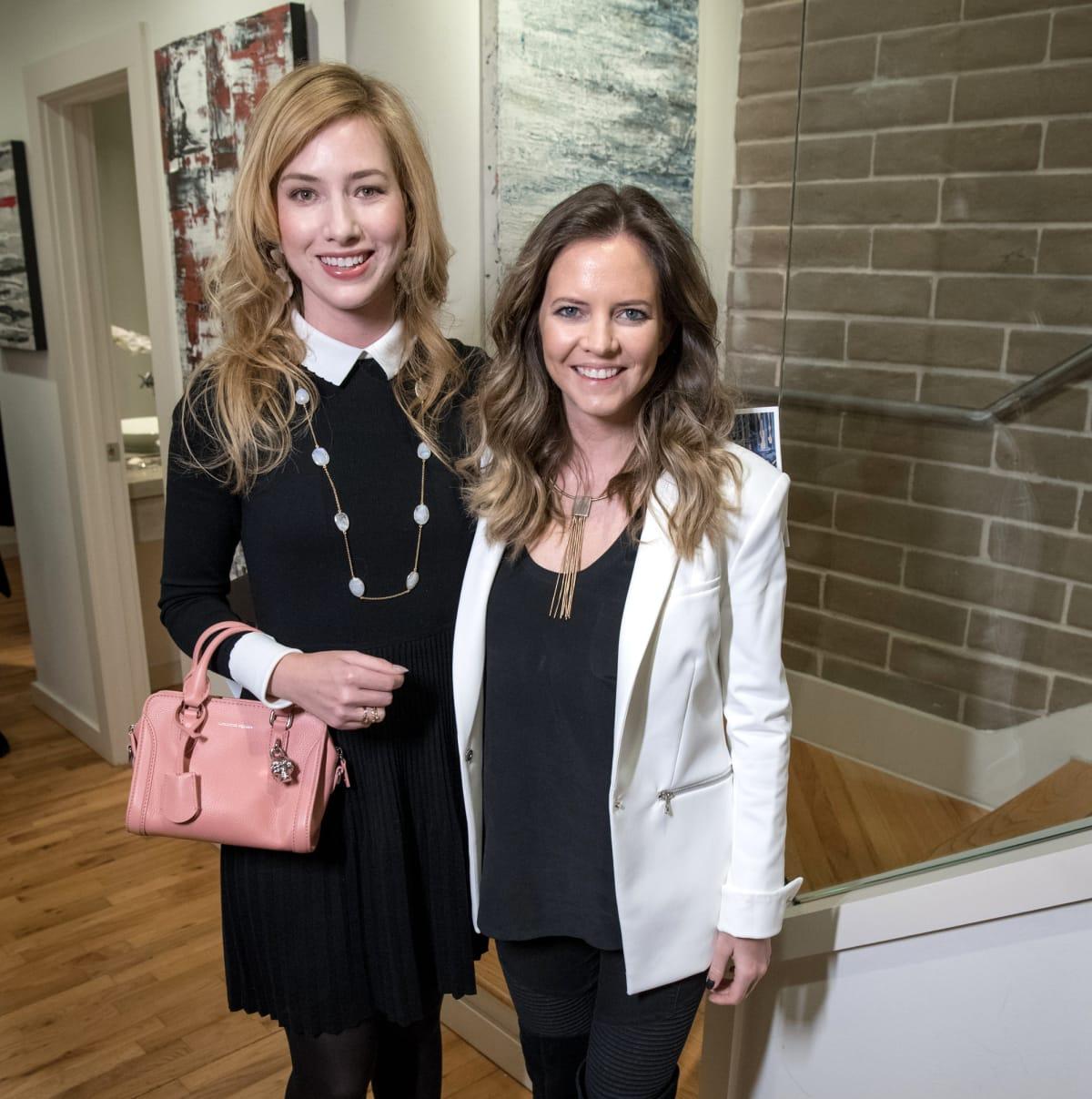 Dallas, LR Art House opening, January 2018, Kaleta Blaffer Johnson, Emma Miller
