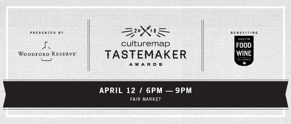 2018 Tastemaker Awards Banner Austin