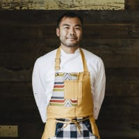 Paul Qui, chef/owner of qui restaurant in Austin.