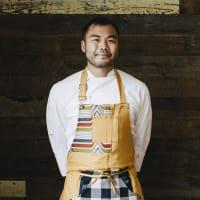 Paul Qui, chef/owner of qui restaurant in Austin.