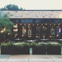 Burn Pizza and Bar exterior patio