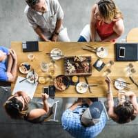 Boiler Nine Bar and Grill food table